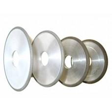 Круг алмазный шлифовальный плоский  с полукругло-выпуклым профилем 1FF1