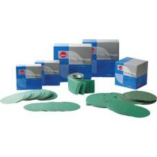 Зелені абразивні диски FILM на основе синтетичної плівкм L312T, d 150мм, 7 отв
